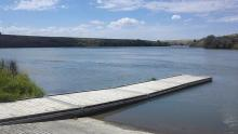A Dock On The Mighty Snake River